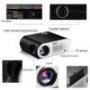HD Projector ViviBright SimpleBeamer GP90 - NTDAIW-E744-Black