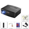 ViviBright GP80 Portable Projector - NTDAIW-E745-Black - 1800 Lumen, 40 To 135 Inch, HDMI, 1080P Support