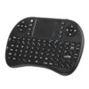 Wireless Mini Keyboard - Portable Design, QWERTY Layout, 92 Keys, Game Controller, Mouse Pad, Adjustable DPI, Wireless Dongle